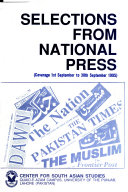Selections from National Press