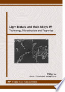 Light Metals and their Alloys IV