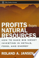 Profits from Natural Resources