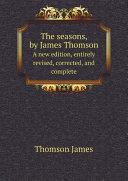 The seasons, by James Thomson [Pdf/ePub] eBook
