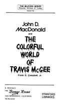 Pdf John D. MacDonald and the Colorful World of Travis McGee