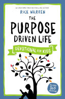 Pdf The Purpose Driven Life Devotional for Kids Telecharger