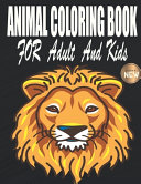 Animal Coloring Book For Adult And Kids