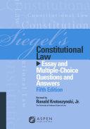 Siegel's Constitutional Law