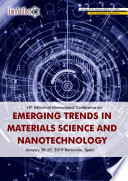 18th Edition Of International Conference On Emerging Trends In Materials Science And Nanotechnology 2019 Book PDF