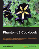 Pdf PhantomJS Cookbook