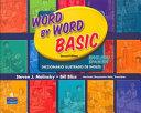 Word by Word Basic English Spanish Bilingual Edition