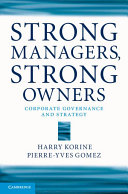 Strong Managers, Strong Owners