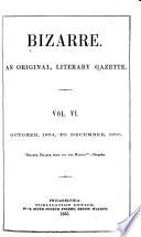 Bizarre An Original Literary Gazette