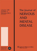 Journal of nervous and mental disease.