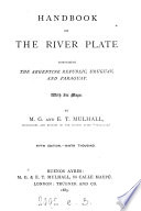 Handbook Of The River Plate Republics By M G And E T Mulhall Bound In Green