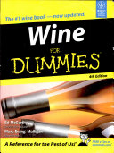 Wine for Dummies  4th Ed