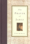 The Prayer of Jabez Journal