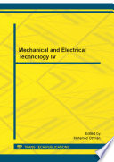 Mechanical and Electrical Technology IV Book