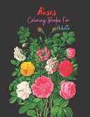 Roses Coloring Books For Adults