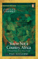You re Not a Country  Africa