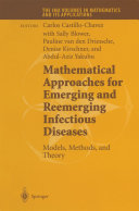 Mathematical Approaches for Emerging and Reemerging Infectious Diseases: Models, Methods, and Theory Pdf/ePub eBook