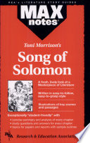 Song of Solomon by Toni Morrison  MAXnotes  Book