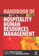 Handbook of Hospitality Human Resources Management Pdf/ePub eBook