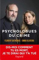 Pdf Psychologues du crime Telecharger