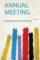 Annual Meeting Book PDF