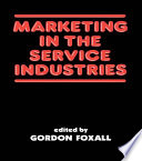 Marketing in the Service Industries