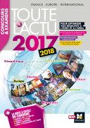 Toute l'actu 2017 - Concours & examens - Sujets et chiffres clefs de l'actualité 2017