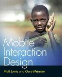 Mobile Interaction Design Book