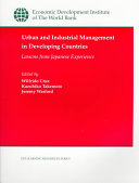Urban and Industrial Management in Developing Countries