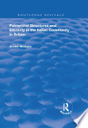 Patriarchal Structures and Ethnicity in the Italian Community in Britain Book