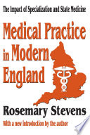 Medical Practice In Modern England