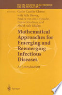 Mathematical Approaches For Emerging And Reemerging Infectious Diseases  An Introduction