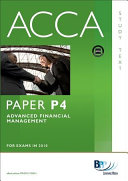 ACCA Paper P4   Advanced Financial Management Study Text