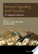 Animal Signaling and Function Book