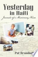 Yesterday In Haiti