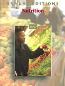 Annual Editions Nutrition Book PDF