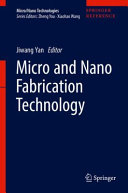 Micro And Nano Fabrication Technology Book PDF