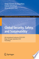 Global Security Safety And Sustainability Book PDF