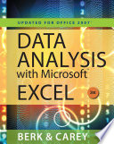 Data Analysis With Microsoft Excel Updated For Office 2007
