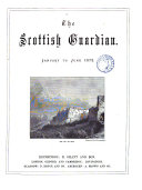 Pdf The Scottish Guardian. January to June 1872.