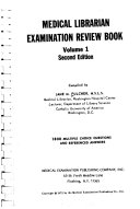 Medical Librarian Examination Review Book