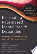 Eliminating Race Based Mental Health Disparities