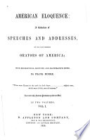 American Eloquence : a Collection of Speeches and Addresses