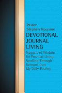 Devotional Journal Living