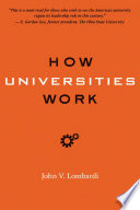 How Universities Work
