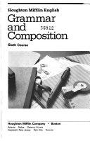 Houghton Mifflin English Grammar And Composition