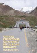 Critical Reflections on China's Belt & Road Initiative Pdf/ePub eBook