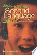 Meeting the Needs of Second Language Learners