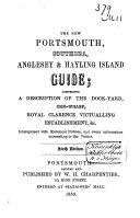 The New Portsmouth  Southsea  Anglesey and Hayling Island Guide