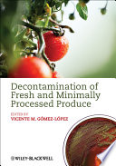 Decontamination of Fresh and Minimally Processed Produce Book